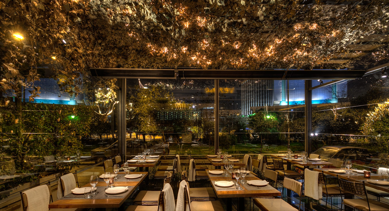 Vezene restaurant athens george fakaros architectural - Resto bio tours ...