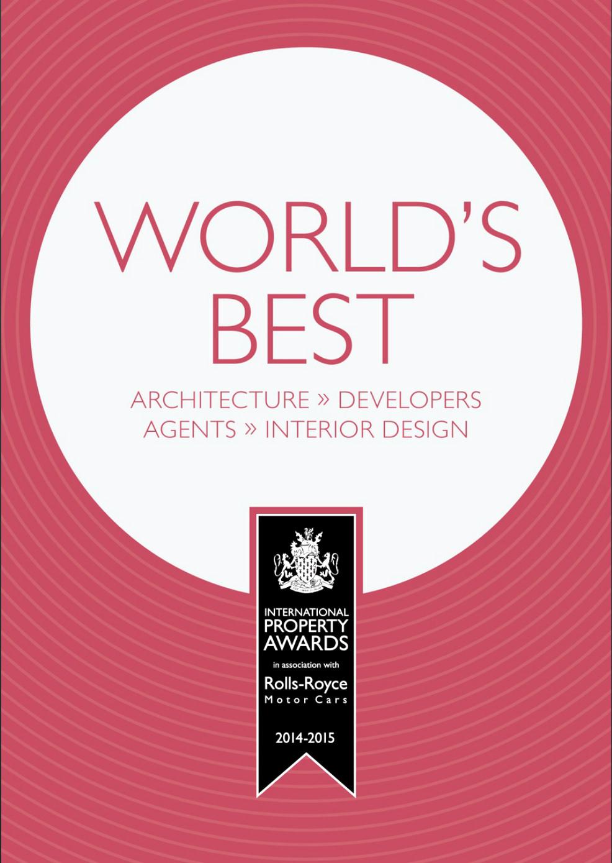 WORLD'S BEST 2014-2015, Γιώργος Φάκαρος - Αρχιτεκτονική Φωτογραφία | Εσωτερικοί Χώροι | Φωτογραφία Ξενοδοχειών - Photography / Φωτογραφία