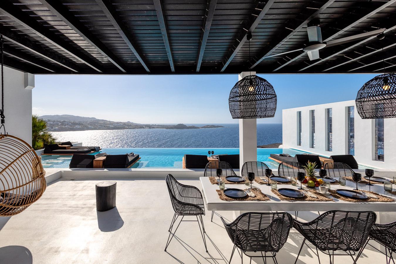 Psarou Black Villa, Mykonos, Γιώργος Φάκαρος - Αρχιτεκτονική Φωτογραφία | Εσωτερικοί Χώροι | Φωτογραφία Ξενοδοχειών - Photography / Φωτογραφία